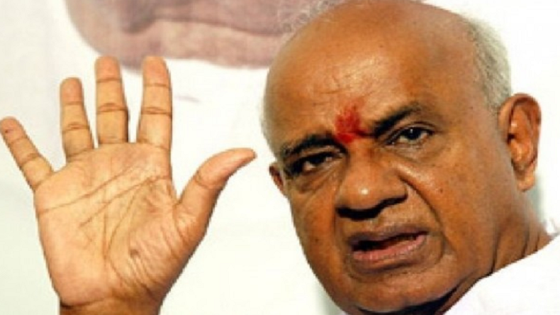 Lok Sabha Elections 2019: HD Deve Gowda says Congress-JD (S) will do everything possible to reduce BJP's strength in Karnataka