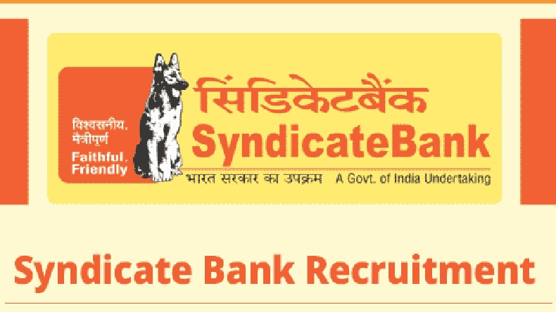 Image result for syndicate bank so recruitment 2019