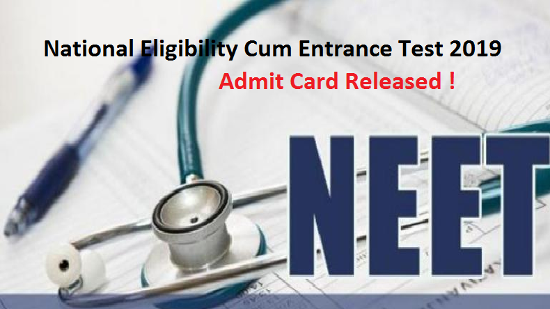 NEET admit cards 2019: NTA releases Hall Tickets @ ntaneet.nic.in: here's direct link to download