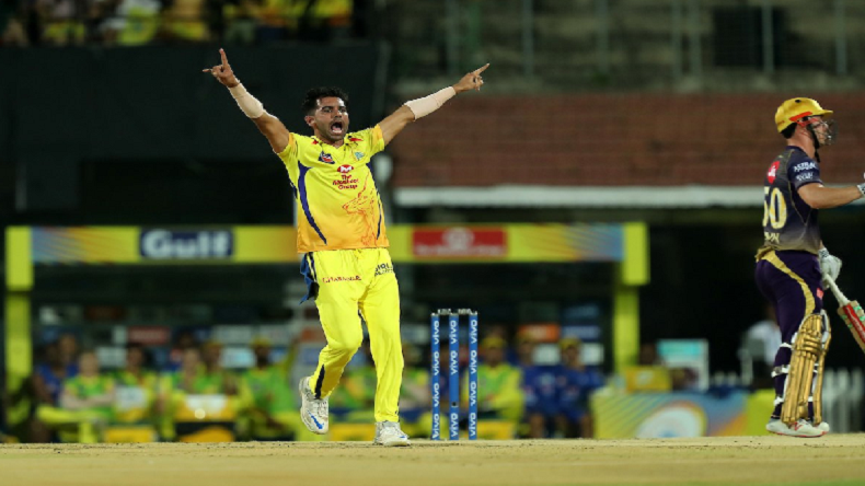 IPL 2019: Deepak Chahar stars as Chennai Super Kings beat Kolkata Knight Riders by 7 wickets, MS Dhoni-led CSK reclaims top spot