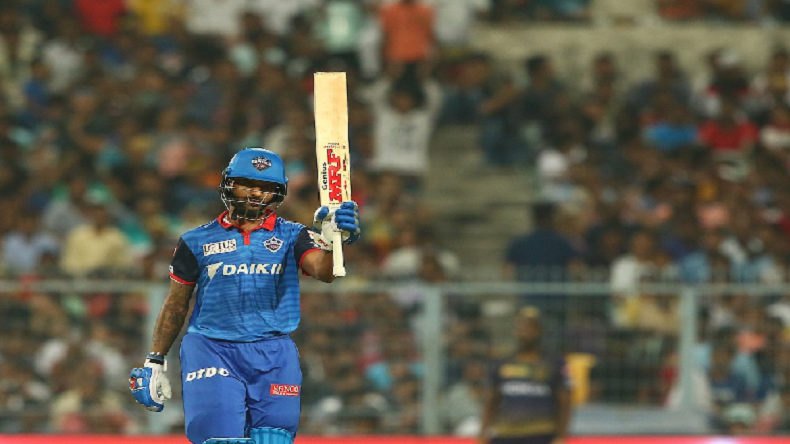 IPL 2019: Shikhar Dhawan's 97 leads Delhi Capitals to victory over Kolkata Knight Riders, beat KKR by 7 wickets