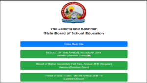 JKBOSE 10th Result 2019 Jammu Division