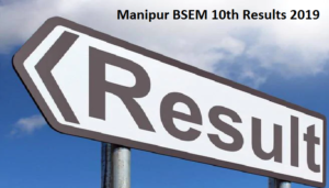 Manipur BSEM 10th Results 2019