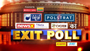 Lok Sabha Elections Exit Poll Results 2019 Live Updates, NewsX exit poll, NewsX Neta Exit polls, Exit polls on NewsX
