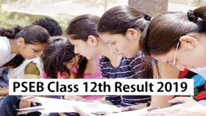 PSEB Class 12th Result 2019