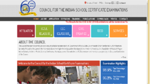 CISCE ICSE ISE results