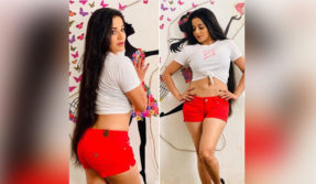 Monalisa aka Antara Biswas flaunts her sexy belly in white crop top, see photos