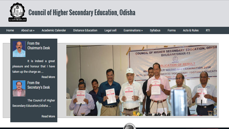 CHSE Odisha 12th Arts, Commerce Result 2019 @chseodisha.nic.in LIVE Updates: Plus two results are now available on websites @orissaresults.nic.in, chseodisha.nic.in, check details here