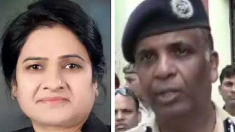 Ajay Anand (right), ADG, Agra, said Manish came and shot three bullets at Darvesh during an event in Agra court premises on Wednesday.