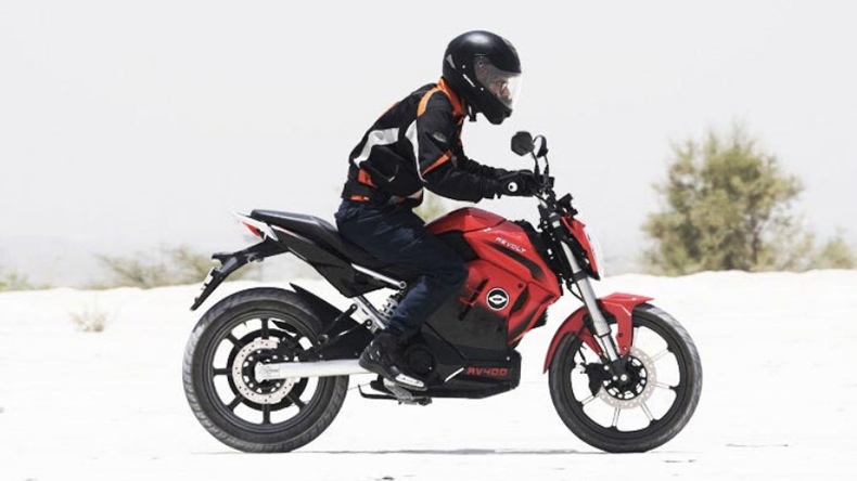 Revolt Intellicorp claims RV400 is India's first Artificial Intelligence (AI)-enabled motorbike.