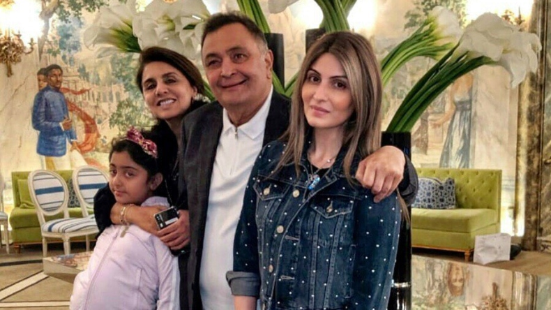 Happy Father's Day 2019: Rishi Kapoor celebrates with daughter Riddhima Kapoor Sahni and family