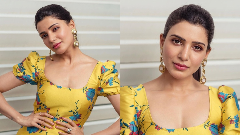 Samantha Akkineni photos: Oh! Baby star stuns in yellow, see pictures