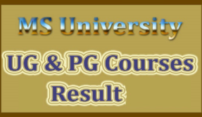 MS University Results 2019, How to check the MS University Results 2019,direct link <https://www.msuniv.ac.in/Examinations/Result>, official website @msuniv.ac.in,  Manonmaniam Sundaranar University,MSU