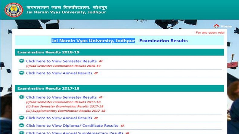 JNVU results 2019: BA final and other exam results declared - NewsX