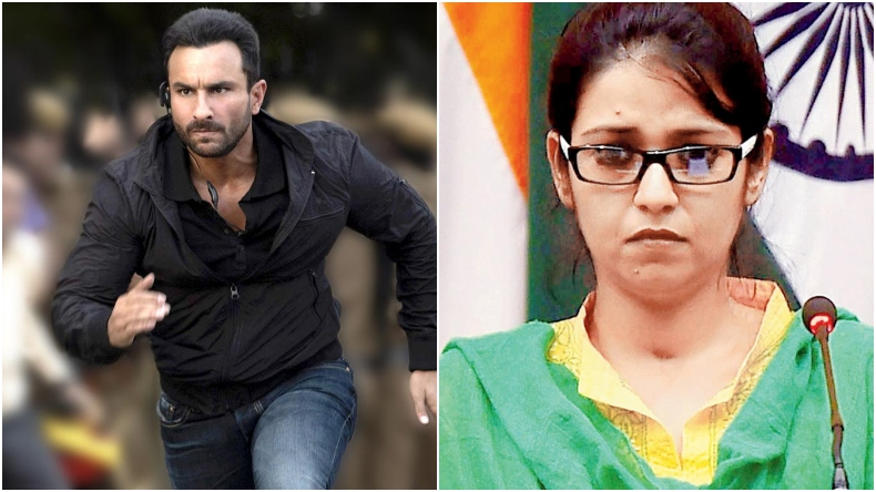 Sacred Games 2 star Saif Ali Khan will play the role of Deputy High Commissioner in a film based on Uzma Ahmed?