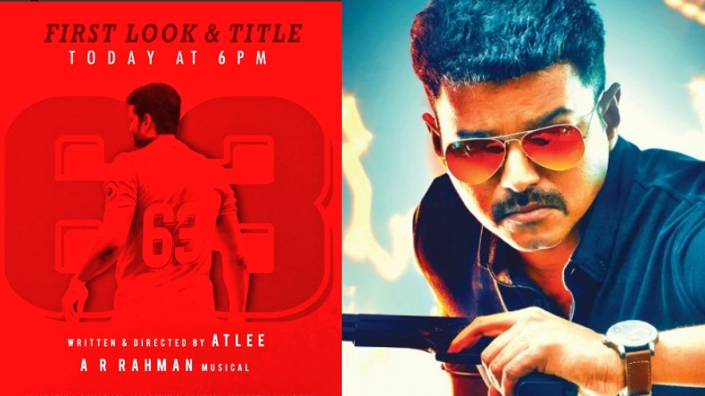 Happy Birthday Vijay: Thalapathy 63 first look out at 6 pm today