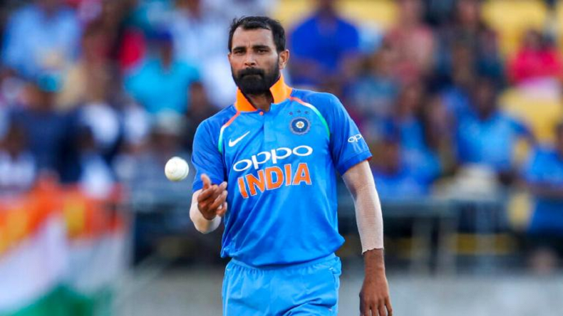 Mohammed Shami claims hat-trick as India seal victory against Afghanistan by 11 runs
