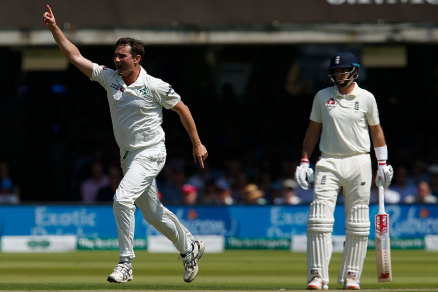 England vs Ireland Test After 20 wickets fall on first day, English side to resume second innings with 00, trail 122