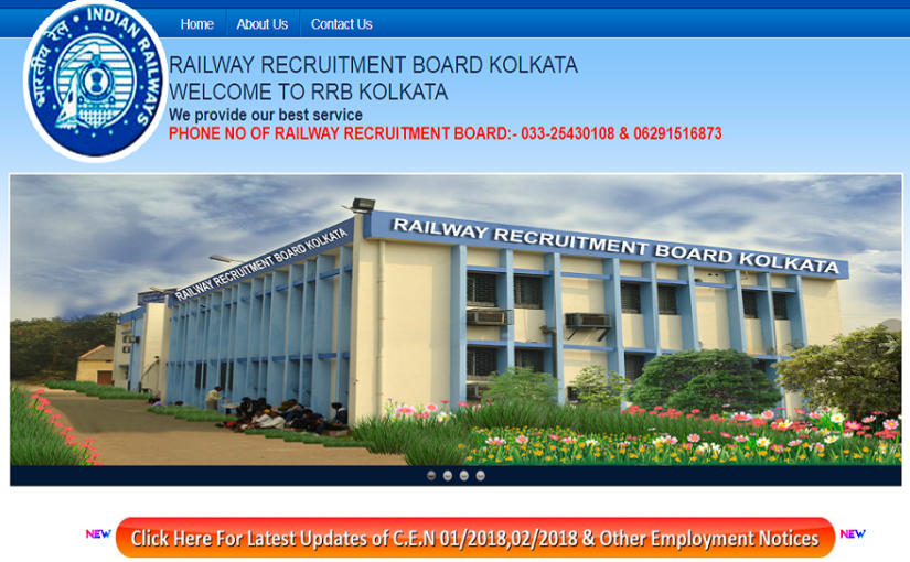 RRB Kolkata NTPC Admit Card 2019 to be out soon
