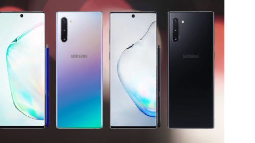 Samsung Galaxy Note 10 and Note+