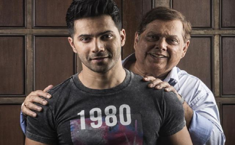 Varun Dhawan shares father David Dhawan's video talking about the schedule of films in good old days