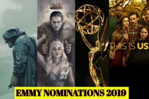 Game of Thrones, Emmy 2019, Emmy, Emmy nominations, Chernobyl, The Crown, NYPD Blue, Emmy nominations 2019, this is us trailer, barry, fleabag, game of thrones season 8, the act. true detective, veep trailer, blackish trailer, ozark trailer, ozark, black mirror