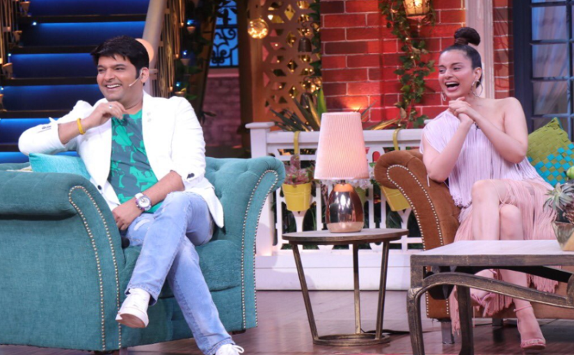 Kangana Ranaut takes a jibe at Karan Johar, Ranbir Kapoor on The Kapil Sharma Show
