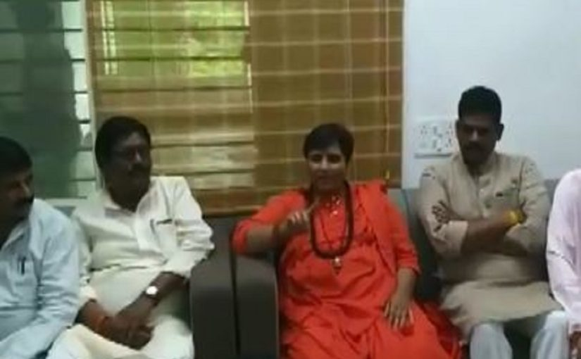 Bhopal MP Pragya Thakur tells party workers not elected to clean your toilets or drain