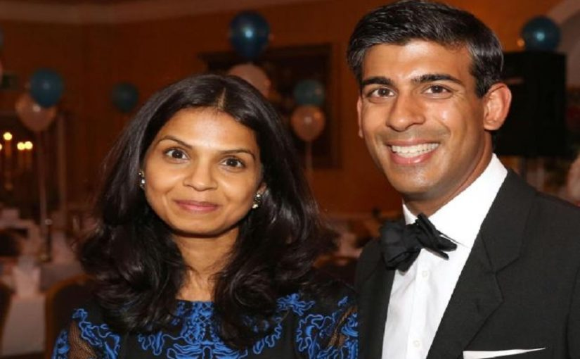 Infosys founder Narayana Murthy's son-in-law Rishi Sunak among three Indian-origin members in Boris Johnson's cabinet