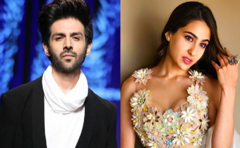 Bollywood heartthrob Kartik Aaryan and Bollywood diva Sara Ali Khan