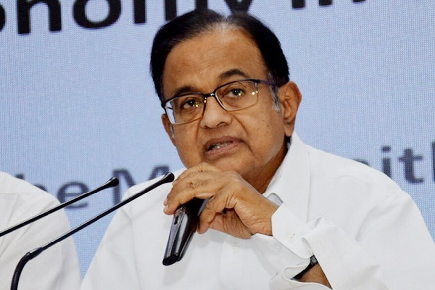 File photo of former finance minister Palaniappan Chidambaram.