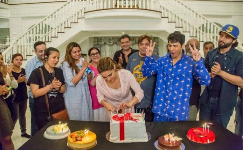 Coolie No 1: Sara Ali Khan celebrates her birthday with Varun Dhawan on the sets of the film, see photos