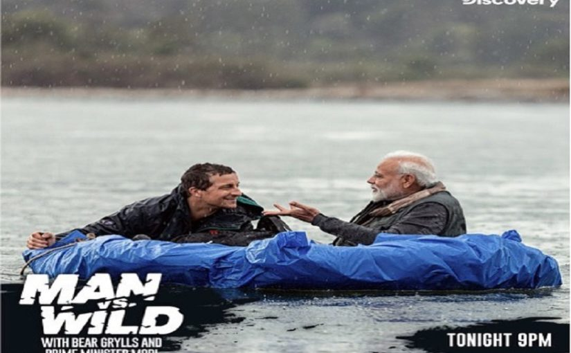 Man vs Wild: Celebs excitement to PM's show