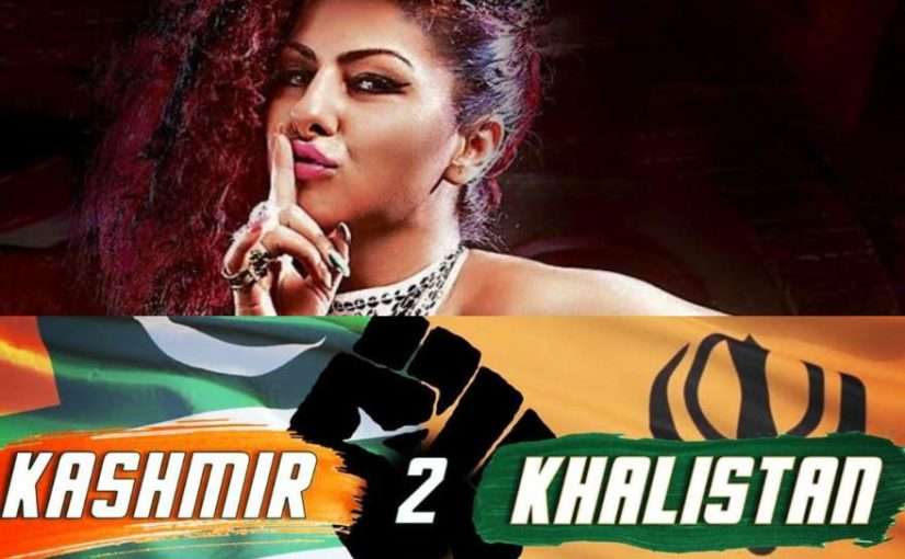 Singer Hard Kaur joins ISI, shares a video of abusing PM Narendra Modi and Amit Shah