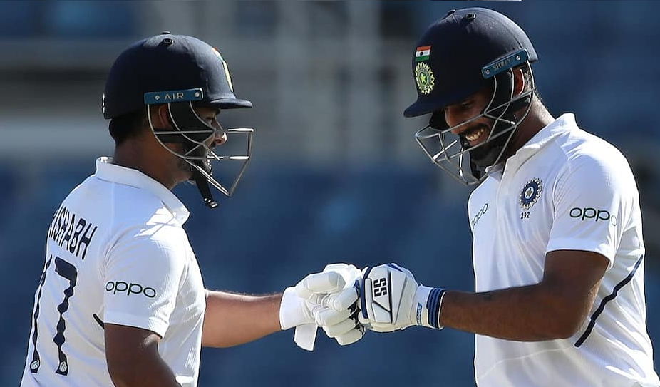 India vs West Indies 2nd Test: India to resume second day's play from 264/5, look for big total
