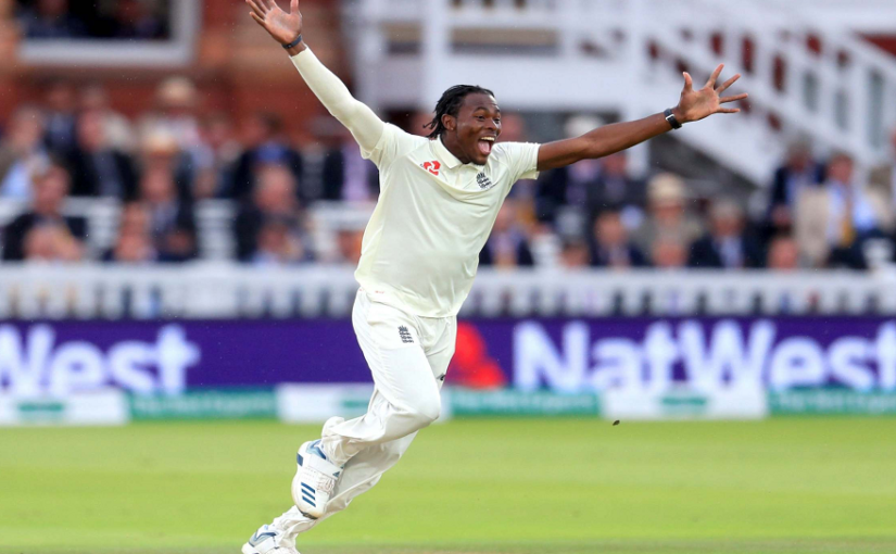 English pacer Jofra Archer