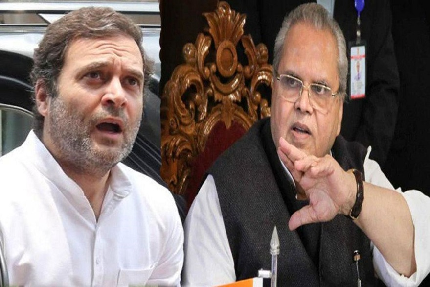 Kashmir news: Rahul Gandhi says no to Satya Pal Malik's aircraft proposal for him to visit the state, asks if he will be allowed to travel freely