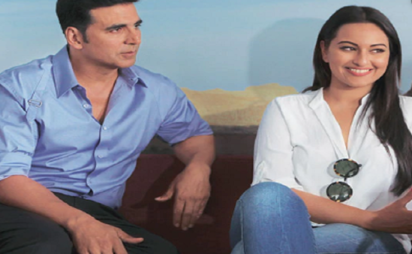 Mission Mangal: Akshay Kumar turns makeup artist for Sonakshi Sinha, but with these two, there's always a twist!