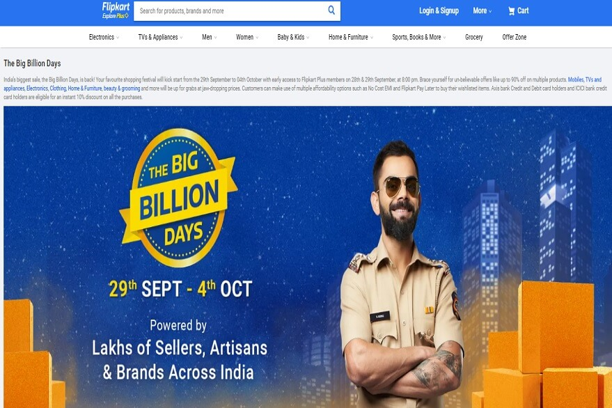 Flipkart Big Billion Days: Sale is going live from September 29, here are some irresistible offers