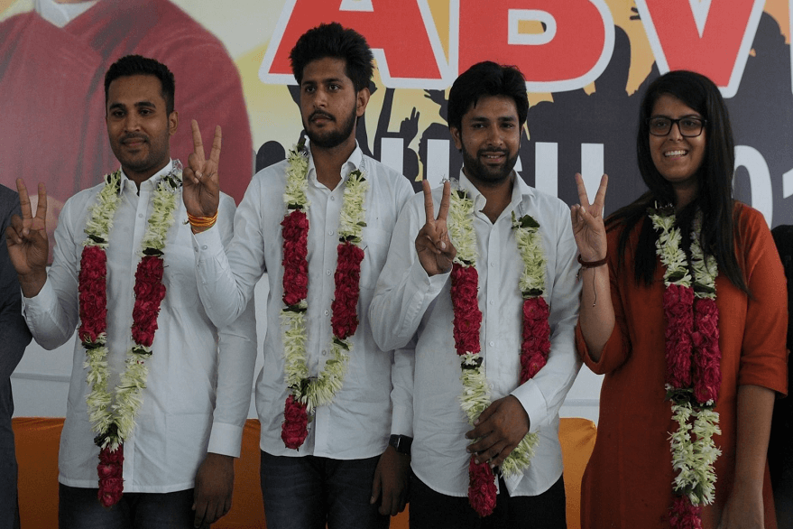 DUSU Elections 2019: ABVP leading at President, Vice-President, General Secretary posts, NSUI maintains hold on joint secretary post