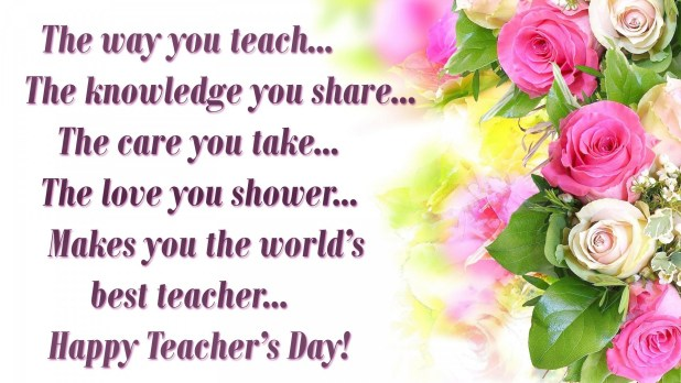 Happy Teacher's Day 2019 Wishes, SMS, Wallpapers, Messages, Facebook and Whatsapp Status