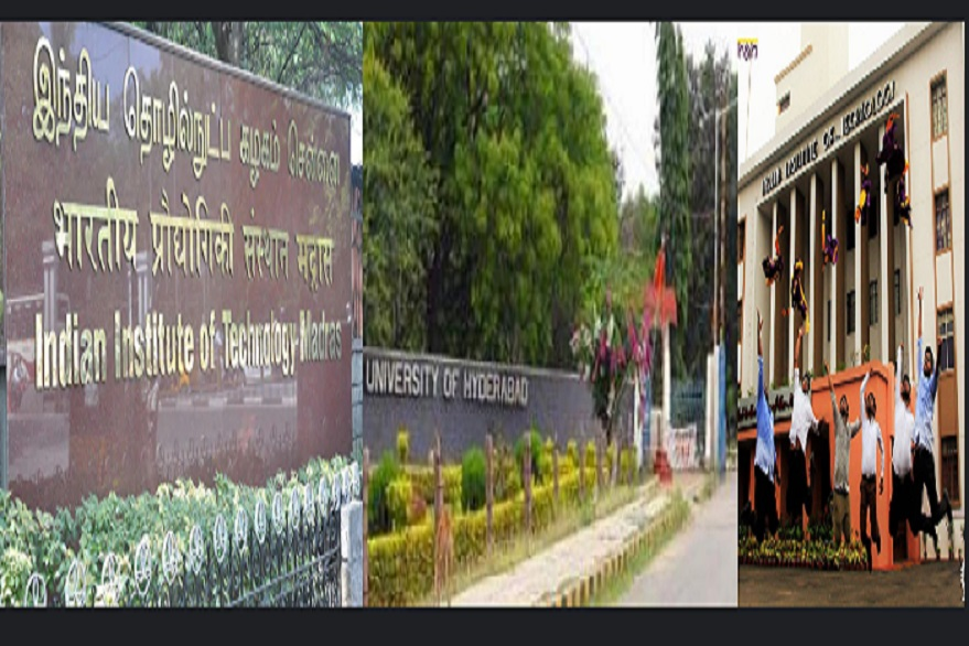 IIT Madras, IIT Kharagpur, Banaras Hindu University, Delhi University, Hyderabad University declared Institutions of Eminence by HRD Ministry