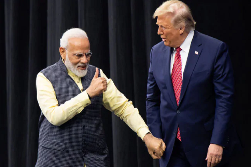PM Narendra Modi and US President Donald Trump at Houston