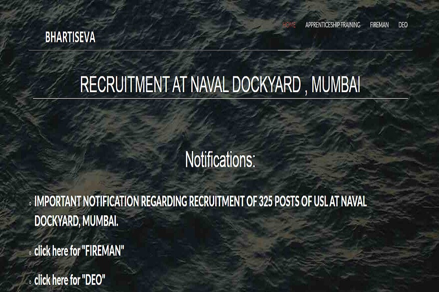 Naval Dockyard Recruitment 2019: 1233 Apprentices Opportunities Announced, check details here