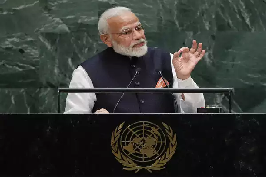 PM Narendra Modi UNGA speech: PM Modi quotes Tamil philosopher Pungundranar, Swami Vivekananda, to give message of peace and harmony