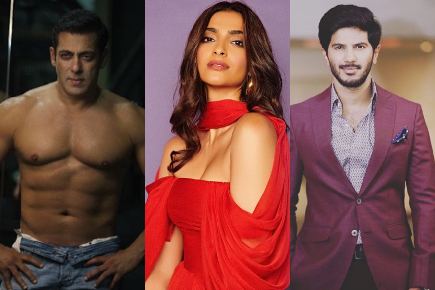 Sonam Kapoor only advice to Salman Khan and Dulquer Salmaan is not to wear t-shirts