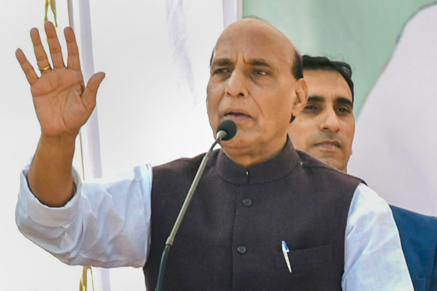 Rajnath Singh says with Rafale, forces could have eliminated Pakistan terror camps from within India