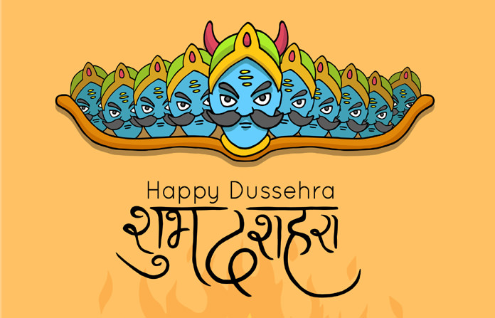 Happy Dussehra 2019 Wishes, Quotes, Messages in Hindi, Vijayadashami photos, HD wallpapers, Gif Images for Facebook, WhatsApp status