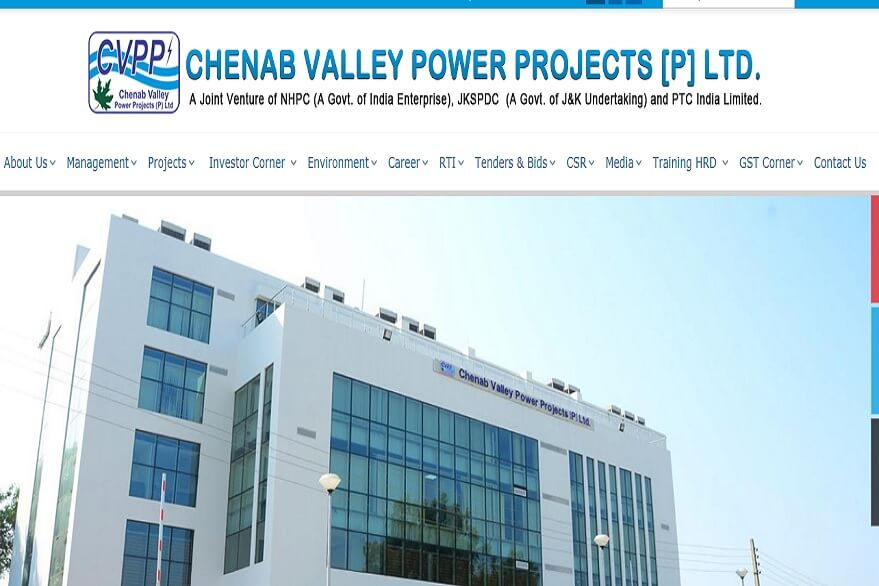 CVPPPL Recruitment 2019: Apply for Electrical, Mechanical, other Engineer posts before November 4