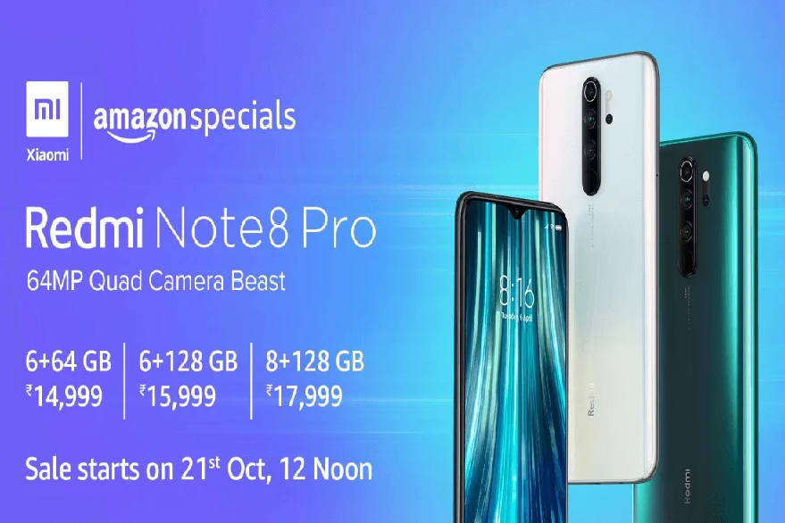 Redmi Note 8 Pro Amazon sale on October 21: Know price, specifications and more